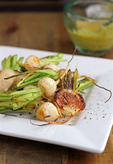 Turnip Detox by Roasted Baby Turnips With Spicy Mustard Dressing Recipe
