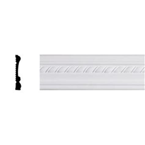 Chair Rail Molding Home Depot by Lynea Molding Twist Collection 3 4 In X 3 1 2 In X 96 In