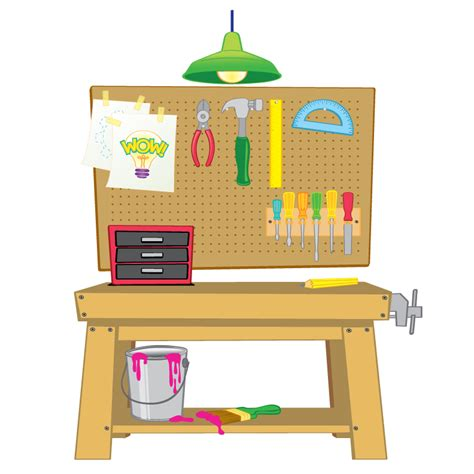 work bench for kids work table clipart clipground