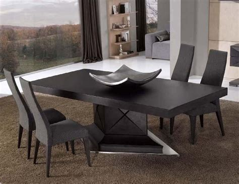 Contemporary Dining Tables And Chairs Contemporary Dining Table Buying Guides To Furnish Your Dining Space With Style Traba Homes