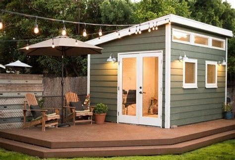 backyard office building dreamy backyard shed offices you will to work in