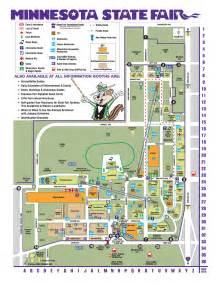 Map Of Mn State Fair by Mn State Fair