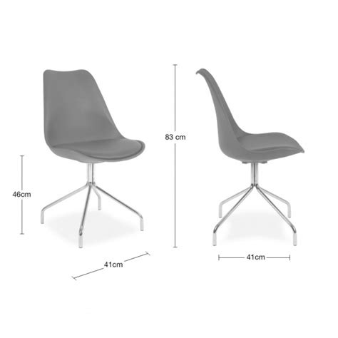 Chairs With Metal Legs by Dining Chair With Metal Cross Legs Cool Grey Restaurant Chairs Cult Uk