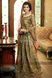 latest beautiful walima bridal dresses collection 2017 18