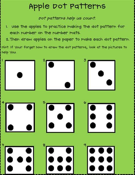 dot pattern math shining and sparkling in first grade bushels of math fun