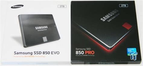 Sale Samsung Ssd 850 Evo 2 5 2tb samsung 850 evo and 850 pro 2tb ssds review