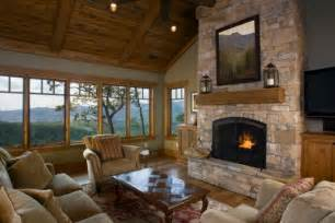 Living Room With Fireplace by Fireplace And Woodstove Designs That Really Heat Things Up