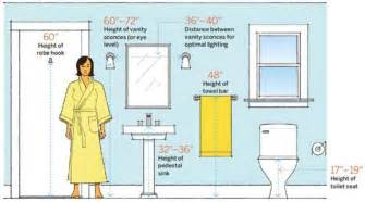 average height of towel bar in bathroom 50 amazingly clever sheets to simplify home