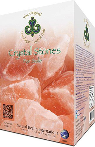 himalayan salt l amazon original himalayan crystal salt 174 stones for sole buy
