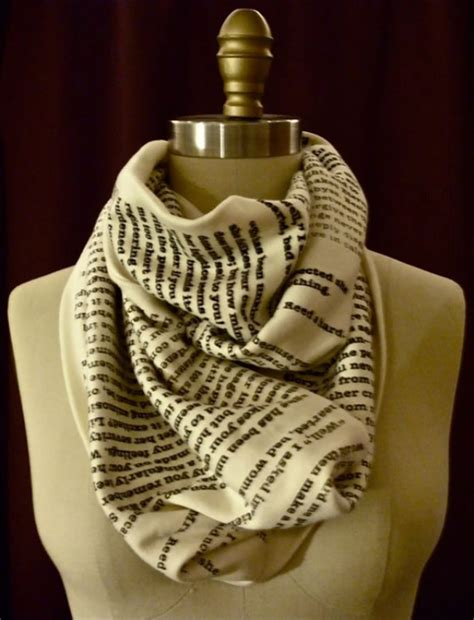 book scarves wear the greatest stories told