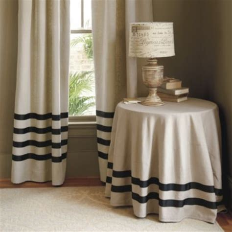 ballard designs drapes deux ruban linen panel traditional curtains by