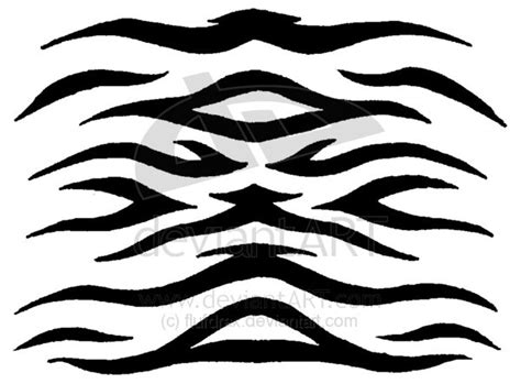tiger stripe template printable tiger stripe pattern