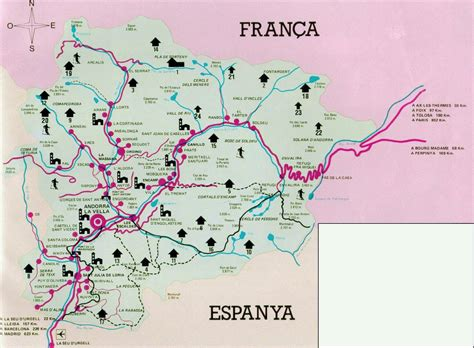 andorra on a map andorra maps printable maps of andorra for
