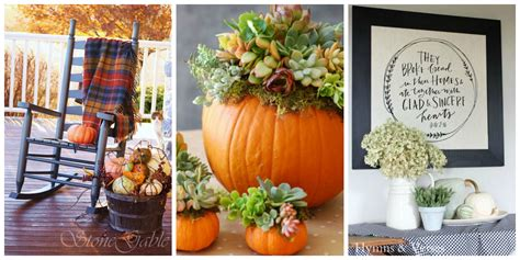 Get Decorating by 12 Easy Fall Decorating Ideas Best Autumn Decor Tips