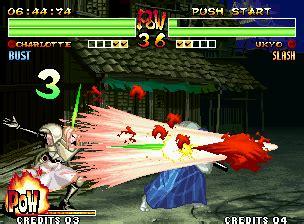 samurai shodown iv: amakusa's revenge screenshots for neo