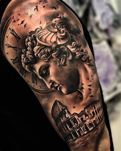 rome tattoos designs when in rome by sergiofernandeztattoo in malaga spain