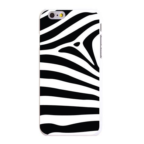 Iphone 6 6s Plus Zebra Pattern Hardcase custom cover for iphone 5 5s 6 6s plus black white zebra skin stripes ebay