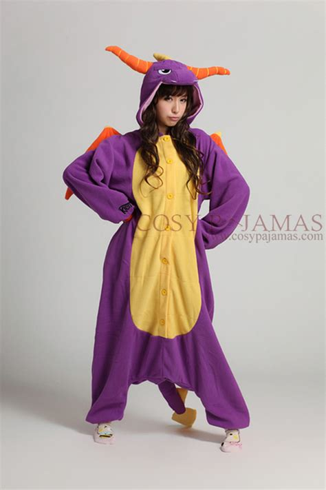 onesie for adults animal onesie spyro onesie kigurumi pajamas