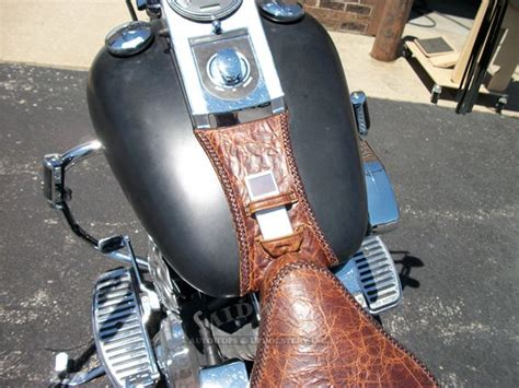 Motorcycle Seat Leather Upholstery by Midwest Auto Tops Upholstery Custom Leather Seat