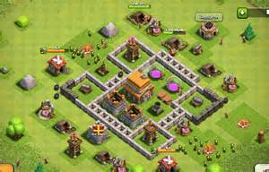 Clash of clans layout for town hall level 5 proud wield shield my clan