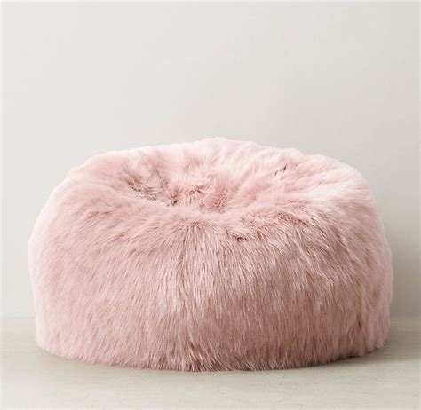 Design Ideas For Fuzzy Bean Bag Chair Fuzzy Fur Bean Bag Chair Chairs Seating