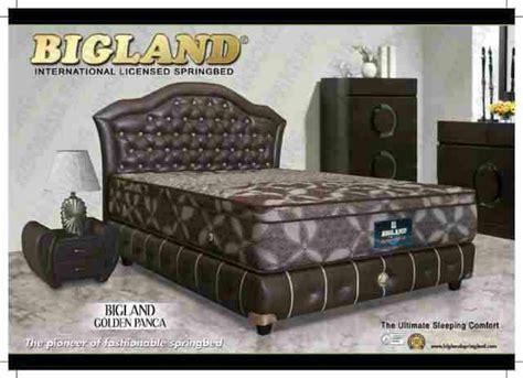 Matras Bigland Ukuran 180x200 harga bed bigland golden panca matras paling tinggi