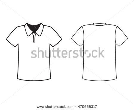 corporate shirt template vector shirt collar stock images royalty free images vectors