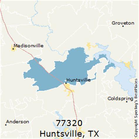 huntsville texas zip code map best places to live in huntsville zip 77320 texas