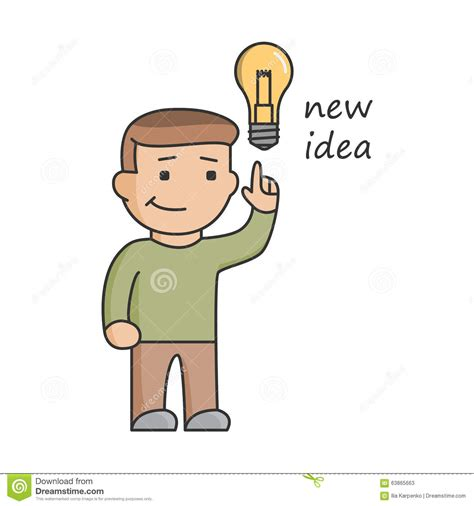 new idea line concept new idea for business big ideas innovation