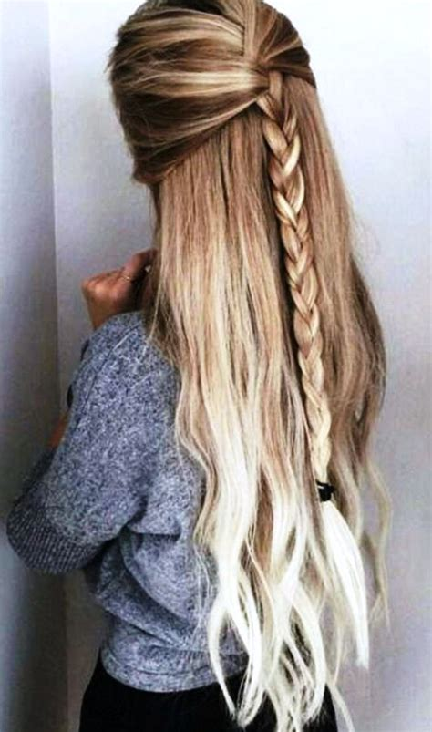 hairstyles for long hair at home how to do cute easy hairstyles for long hair step by step