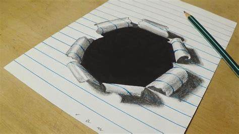 S Drawing 3d by 50 Beautiful 3d Drawings Easy 3d Pencil Drawings And