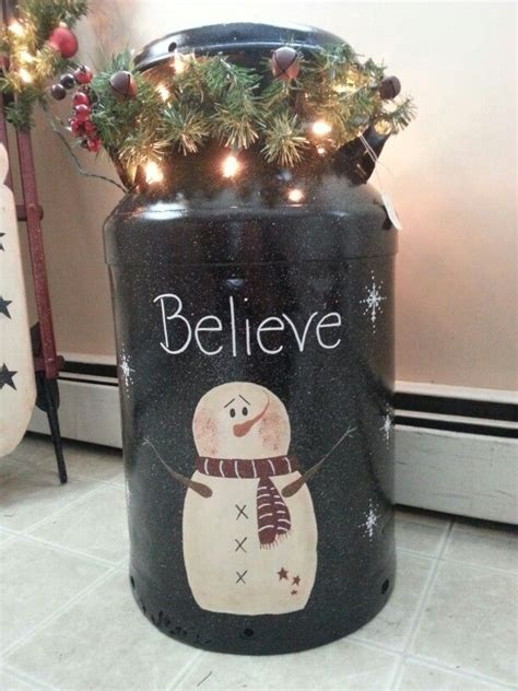 christmas milk can ideas pinterest the 25 best antique milk can ideas on milk can decor country porch decor and
