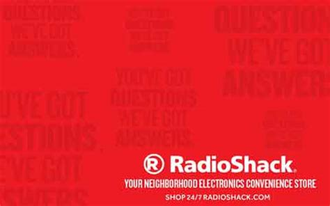 Radio Shack Gift Card Balance - buy radioshack discount gift cards giftcard net