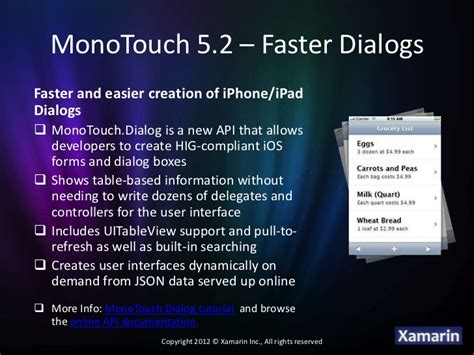 xamarin monotouch tutorial monotouch 5 2 introduction
