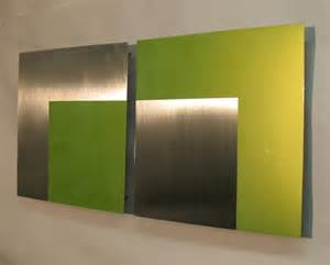 lime green wall contemporary metal wall art sculpture 35l variation one lime green atlanta georgia