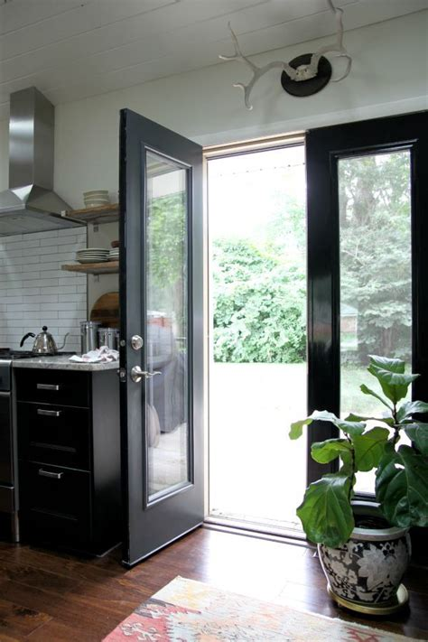 Kitchen Exterior Doors Best 25 Black Doors Ideas On Pinterest Diy Doors Makeup By D