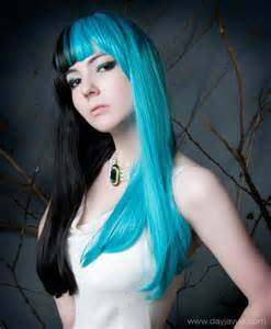 black and blue hair color black and blue hair hair picture