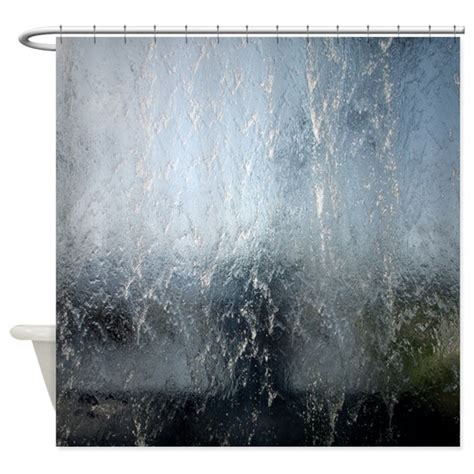 waterfall shower curtains waterfall shower curtain by thehomeshop