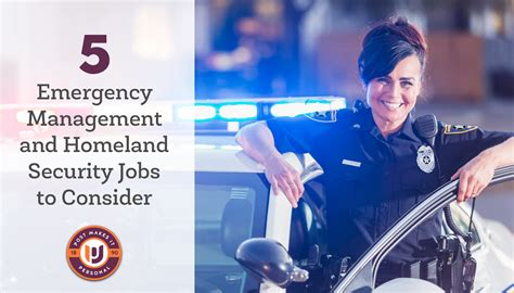 Mba Homeland Security by 5 Emergency Management And Homeland Security To Consider