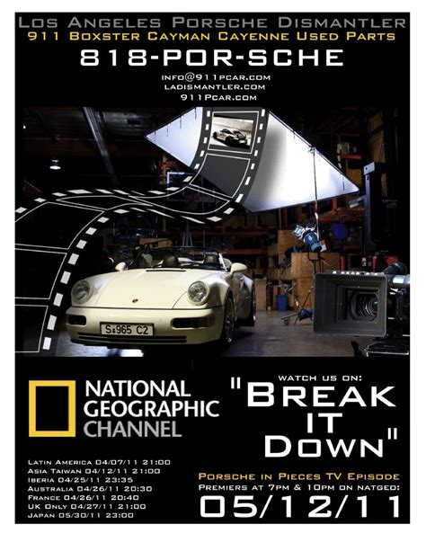 porsche dismantlers uk porsche in pieces it episode by national