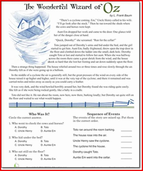 reading worksheets 5th grade project edu hash