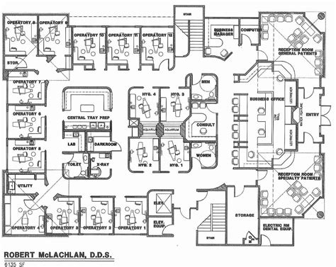 architect office plan layout t michael hadley architect sedona arizona