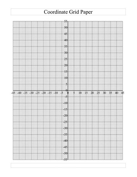 printable graph paper with header blank coordinate graph paper worksheets for all download
