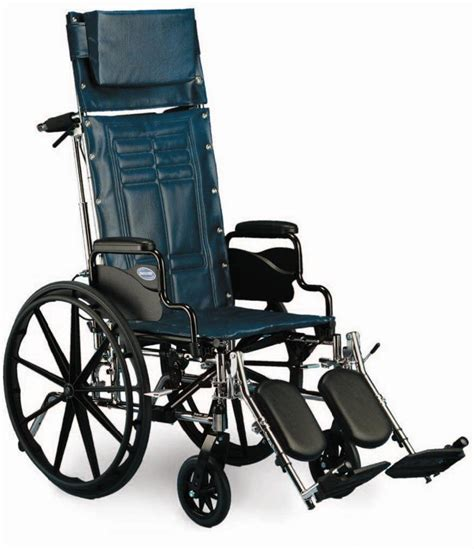 Reclining Wheel Chair by Rental Wheelchair Reclining 18 Quot With Leg Rest