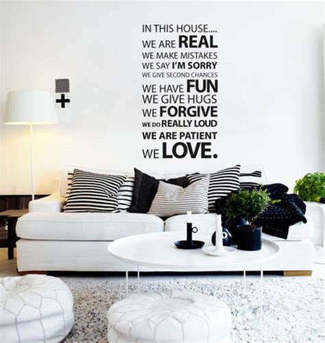 bedroom quote wall stickers 50 beautiful designs of wall stickers wall decals