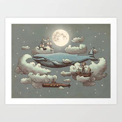 terry fan the whale art print 74 best artist terry fan images on pinterest terry fan