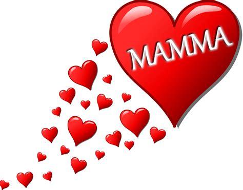 clipart cuore clipart cuore per la festa della mamma con una scia di