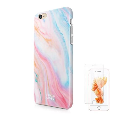 ucolor pastel gradient marble iphone   protective case