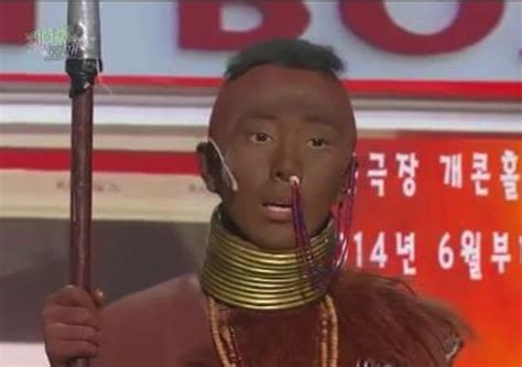 black in korean international fans petition to end the use of blackface on