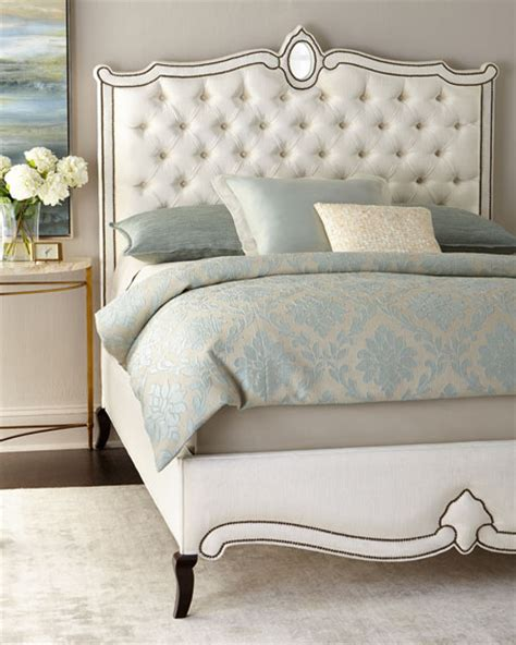 Horchow Headboards by Tufted Velvet Headboards At Neiman Horchow